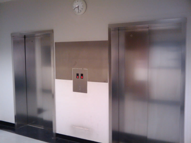 Image of the lifts at UCL